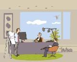 Illustration aus 'Mein Papa arbeitet in der IT-Branche'