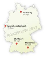 Reporting Roadshow in München, Stuttgart, Mönchengladbach und Hamburg