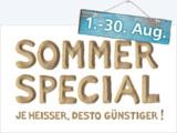 Rabatt im August: Sommer Special bei Softwarehersteller combit