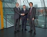 Dr. Martin U. Schefter, Thomas Kamps und Richard Stenzel (v.l.n.r.)