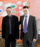 InnoCyte-Gründer Dr. Michael Fritsche (links) und Roland Huchler (rechts)
