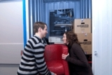 MyPlace-Kunden lagern Möbel ein