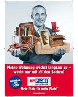Neue Plakat-Kampagne von MyPlace-SelfStorage