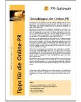 Wihtepaper: Grundlagen der Online-PR