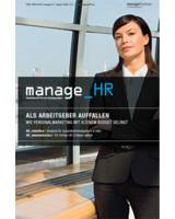 Cover des neuen Magazins manage_HR von managerSeminare