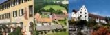 Das Schloss Haigerloch, Garten Hotel Hirschen und Romantik Hotel Linslerhof