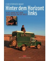 "Cover:  Christopher Many ""Hinter dem Horizont links"""