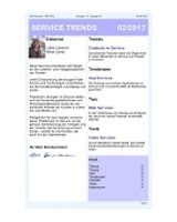 Newsletter SERVICE TRENDS 022017