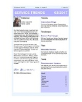 Newsletter SERVICE TRENDS 032017