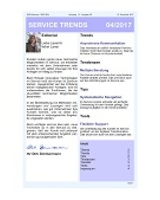 Newsletter SERVICE TRENDS 042017