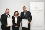 J.Segebrecht, EDEKA Schlemmermarkt; V.Rust-Sorge, WirtschaftsKreis; H.-M.Lohmann, W.Neudorff GmbH KG