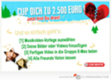 Clipgenerator präsentiert X-Mas-Channel in Kooperation mit M