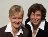 Bettina Tausendfreund und Silke Löbner