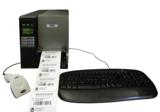 Etikettendruck ohne PC, Bild Barcodat
