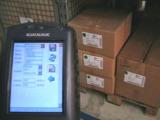 Lagerplatzverwaltung auf Barcodescannerbasis, Bild Barcodat