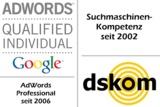 Beratung aus erster Hand: dskom Suchmaschinenoptimierung