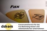 Faxversand für Handel, Handwerk und Gewerbe