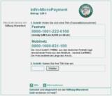 infin-Payment im Einsatz bei der Stiftung Warentest