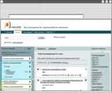 Screenshot von vascoda Webseite