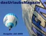 Titelbild der neusten Ausgabe des Urlaubsmagazins