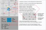 Bildschirm-Lineal für schnelles und einfaches Positionieren