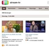 Klar und übersichtlich: Die neue TV Mediathek stream-tv.de