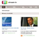 Übersichtlich: stream-tv.de bündelt Angebote der Mediatheken