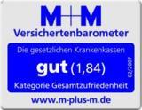 M+M Kundenzufriedenheitssiegel