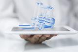 Der Lagerverantwortliche kann durch Tablets Auswertungen der Prozesse durchführen. Foto: Flexus AG