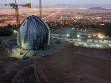 Baustelle bei Santiago de Chile (Quelle: Arnold Schwerlast)