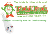 SECUTAG Mikro-Farbcodes kennzeichnen den Ticki Tack Wecker als Original