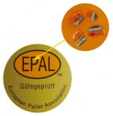 Fälschungssicher durch Mikro-Farbcodes: das EPAL-Prüfsiegel