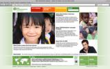 Der neue Internetauftritt von SOS-Kinderdörfer weltweit.