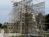 Dommuseum Frankfurt am Main: Claus Bury - Einrüstung Epidauros – Griechenland