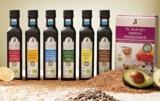 Eine Auswahl an Omega-3-Produkten von Dr.Budwig
