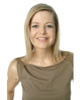 Moderatorin Sabine Altena