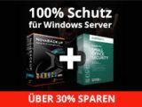 NovaStor + Kaspersky Lab = 100% Schutz für Windows Server