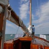 "An Bord der ""Sir Shackleton"", dem Seminarschiff am Ammersee"