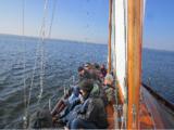 Teamentwicklung an Bord der Sir Shackleton auf dem Ammersee bei München