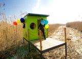 Das neue Kinderspielhaus kubi vom Ammersee (Foto: Sabine Jakobs)
