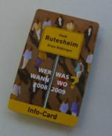 Die Info-Card