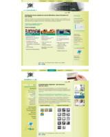 Die neue Website integriert die drei Geschäftsfelder Plastikkarten, Digitaldruck und UV-Offsetdruck.