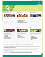 Das Webportal des Druckspezialdienstleisters präsentiert sich jetzt mobil optimiert.