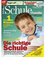 Cover der aktuellen Ausgabe von Schule+Familie