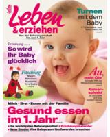 """Cover der aktuellen Ausgabe von """"Leben & erziehen"""""""