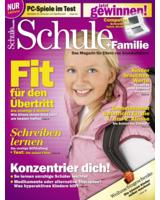 """Cover  """"Schule+Familie"""" Ausgabe 0408"""