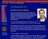 Uwe Herzog im Interview mit der Hörothek (www.hoerothek.de)