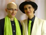 """ANA & ANDA, Gründerinnen des Ökomode-Labels """"nachhaltige eleganz"""""""