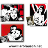 Farbrausch - Portraits im Retro-Stil
