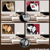 Farbrausch.net - Moderne Portraits im Retro- oder Popart-Sti
